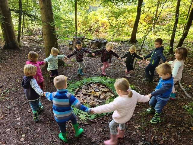 Teden otroka v Zeleni skupini